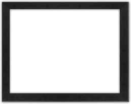 Black Wood Frame Png. A Hand Made, Custom Frame Made From Ayous Wood