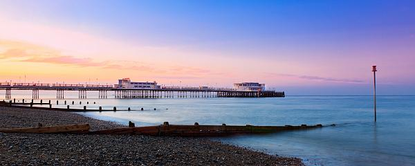 Sunsets over Worthing Pier 2